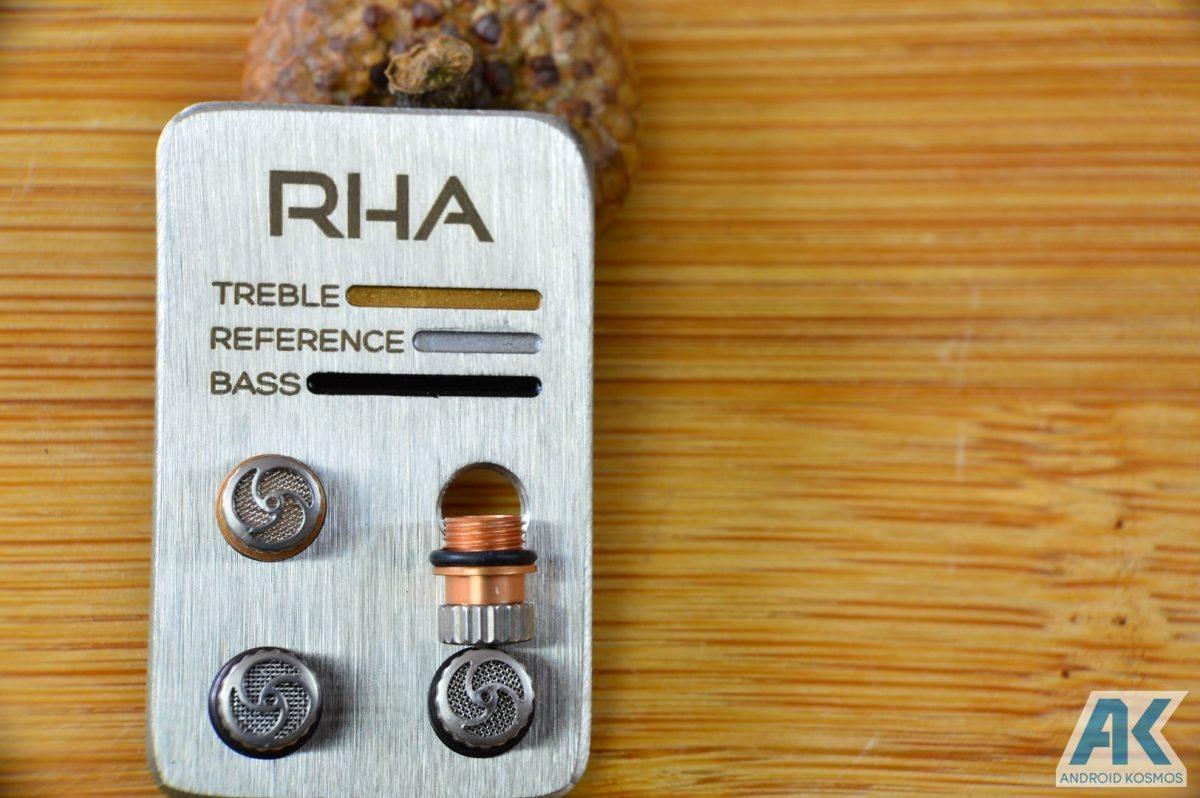 Test / Review: RHA T10i - In-Ear Kopfhörer mit austauschbaren Tuning-Filtern 9