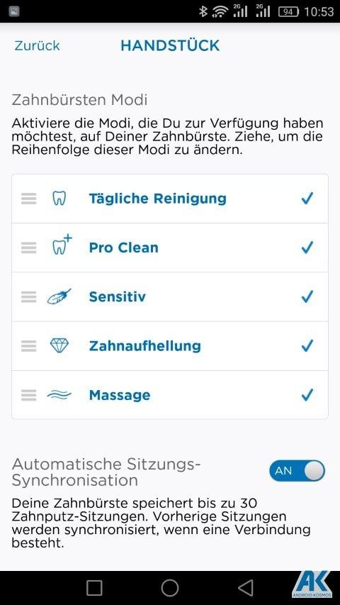 AndroidKosmos | Test / Review: Oral B Genius 8000 - eine appgesteuerte elektronische Zahnbürste 43