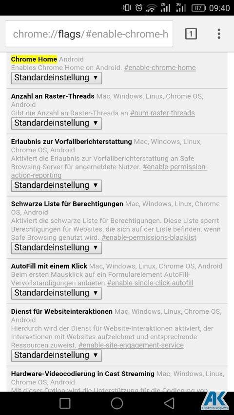 Chrome Browser: Adressleiste des Browsers wird bald nach unten verschoben 3