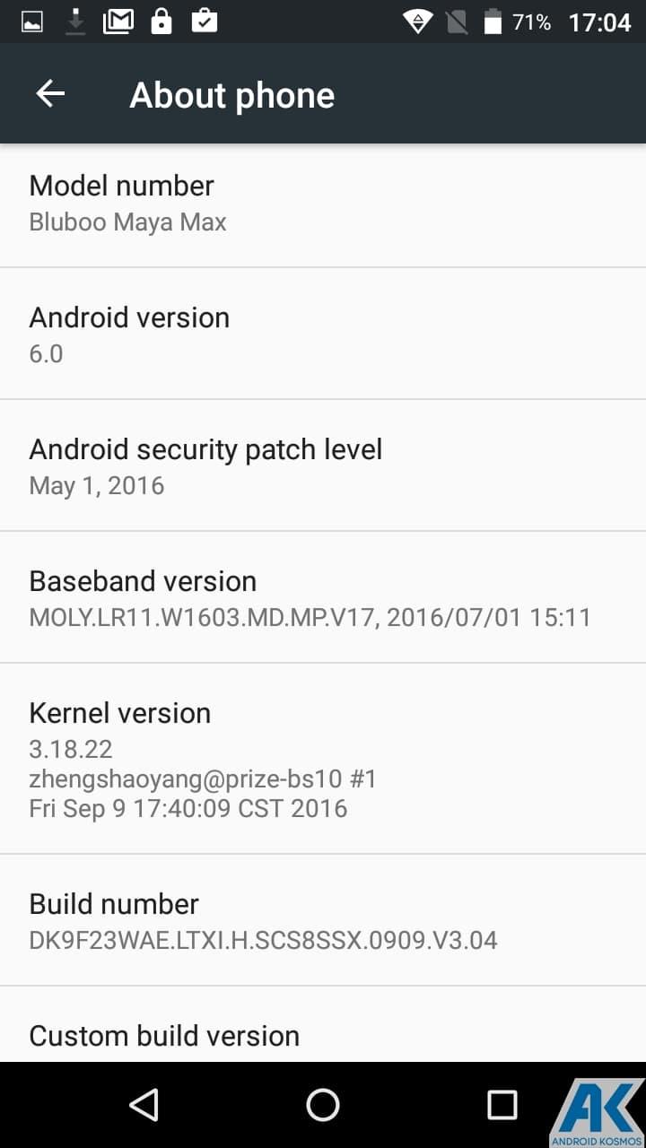 AndroidKosmos | Test/Review: Bluboo Maya Max - is bigger better? - Chinesisches 6 Zoll Phablet für Einsteiger im Test 23