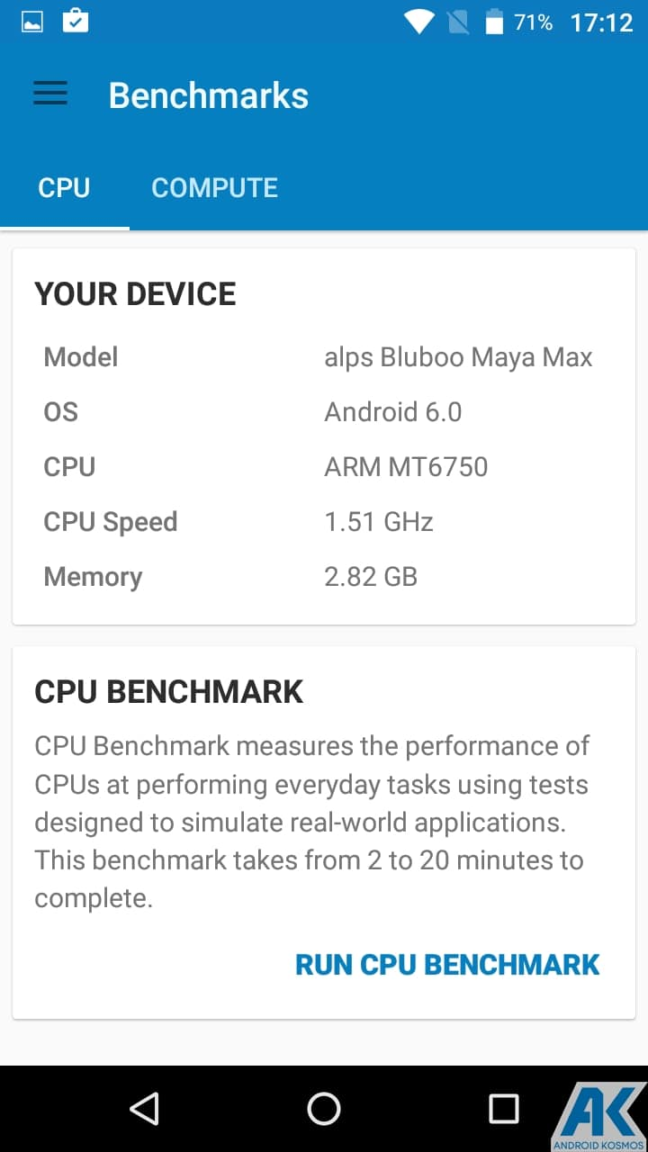 AndroidKosmos | Test/Review: Bluboo Maya Max - is bigger better? - Chinesisches 6 Zoll Phablet für Einsteiger im Test 35