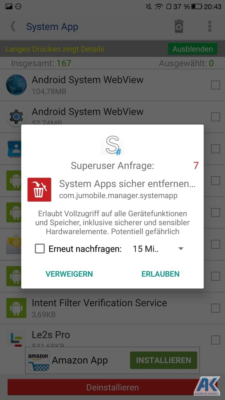 AndroidKosmos | Anleitung/HowTo: LeEco Le Pro 3 - TWRP Recovery und Flash Root 21