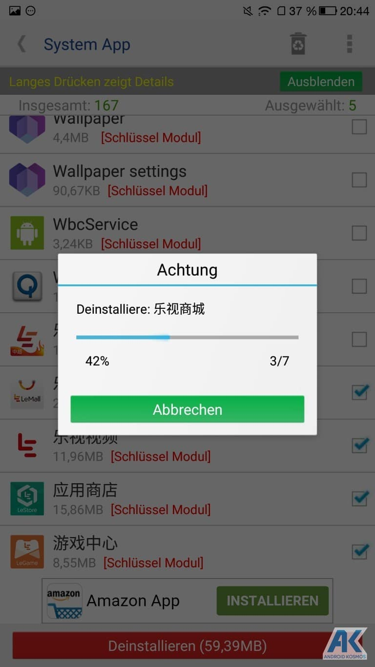 Anleitung/HowTo: LeEco Le Pro 3 - TWRP Recovery und Flash Root 20