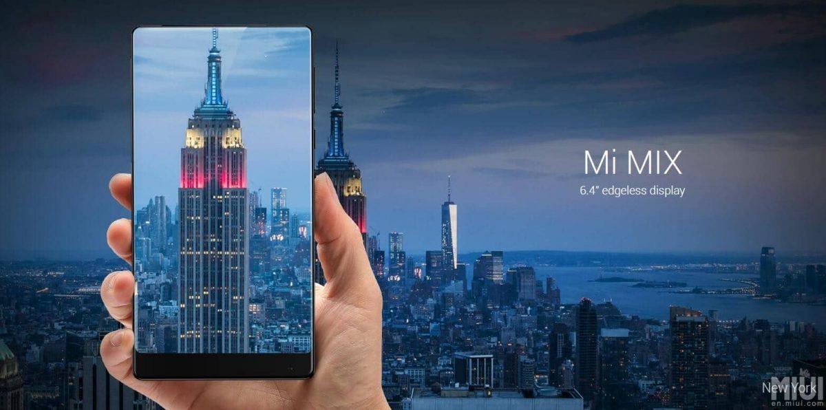 Xiaomi Mi Mix: Das randlose Smartphone als Konzept 1