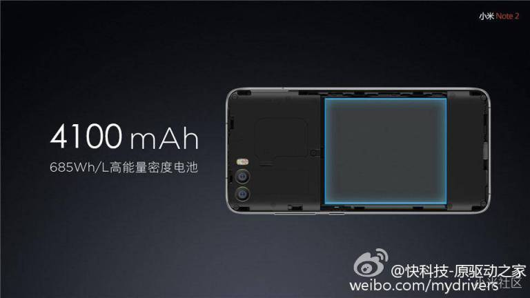 AndroidKosmos | Xiaomi Mi Note 2: Erste Bilder, Infos und technischen Daten zum kommenden Flaggschiff 7