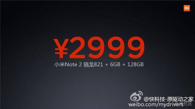 Xiaomi Mi Note 2: Erste Bilder, Infos und technischen Daten zum kommenden Flaggschiff 10