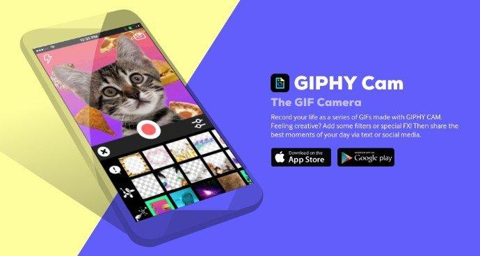 Giphy.com veröffentlich eigene GIF-Kamera App 1