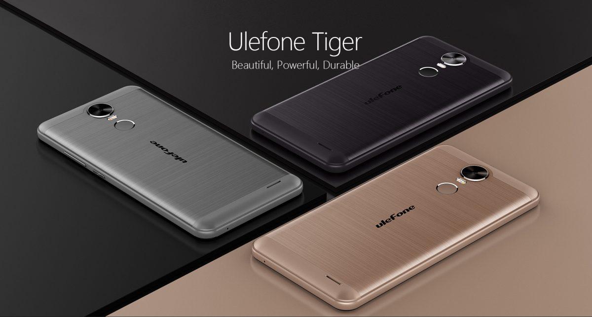 Ulefone Tiger: Einsteiger-Smartphone im Metallgewand 1