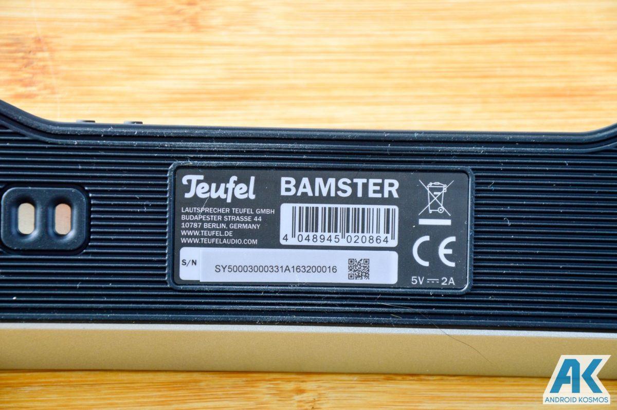 AndroidKosmos | Test / Review: Teufel Bamster- edler und robuster Bluetooth Lautsprecher 13