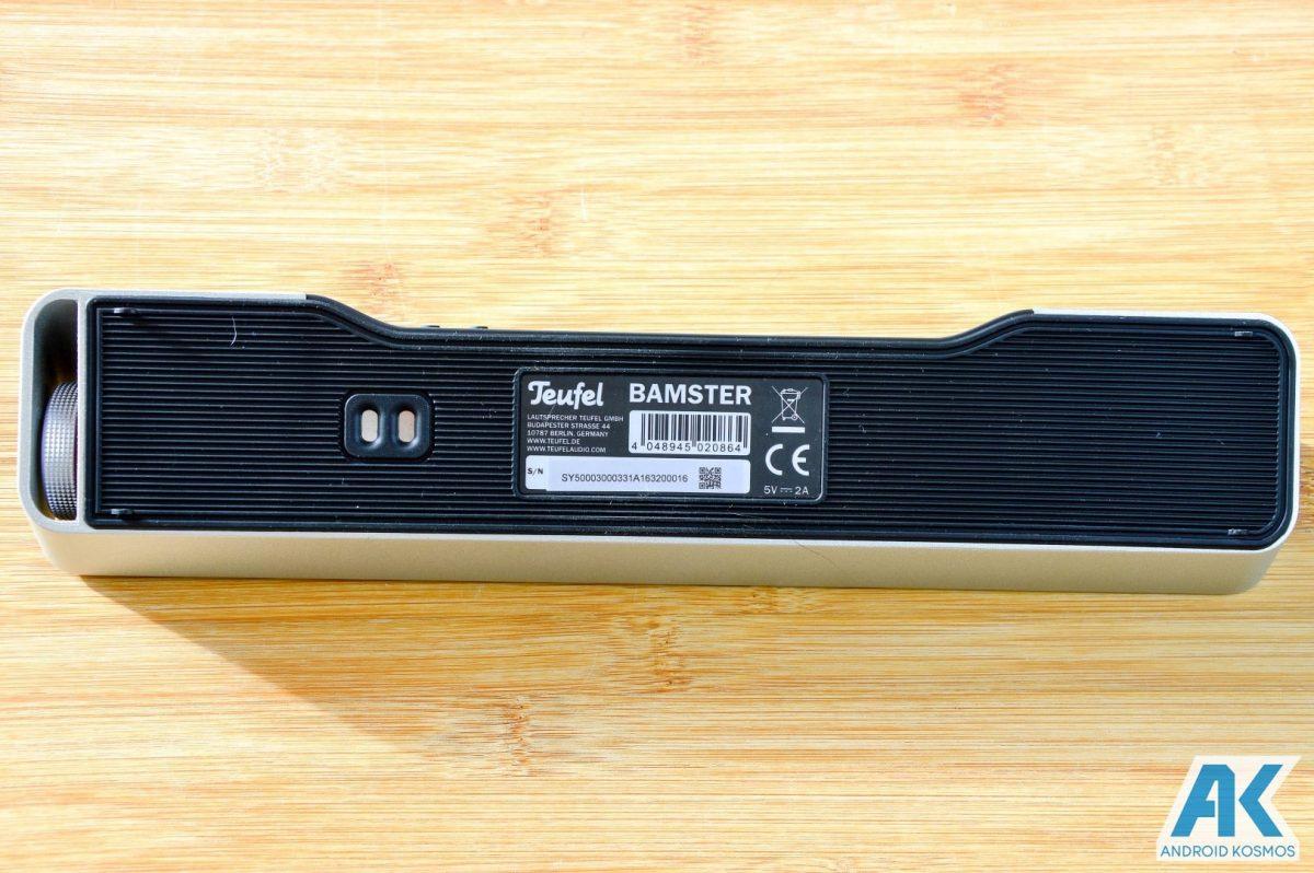 Teufel Bamster Test: edler und robuster Bluetooth Lautsprecher 14