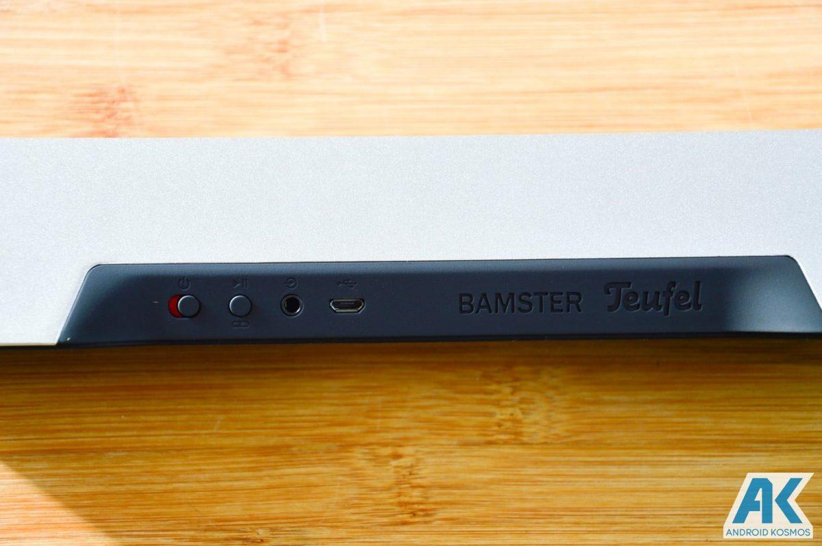 AndroidKosmos | Test / Review: Teufel Bamster- edler und robuster Bluetooth Lautsprecher 16