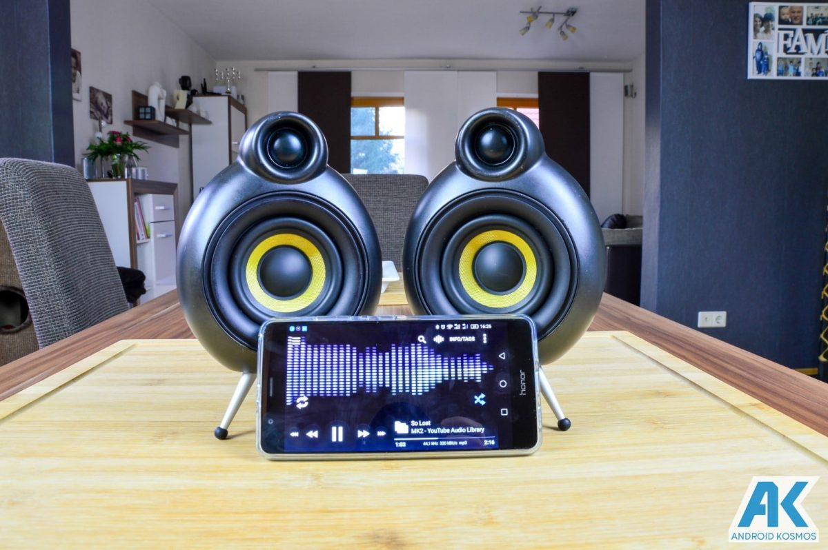 Test/Review: Scandyna PodSpeakers MicroPod - futuristischer Bluetooth Lautsprecher | AndroidKosmos image 8