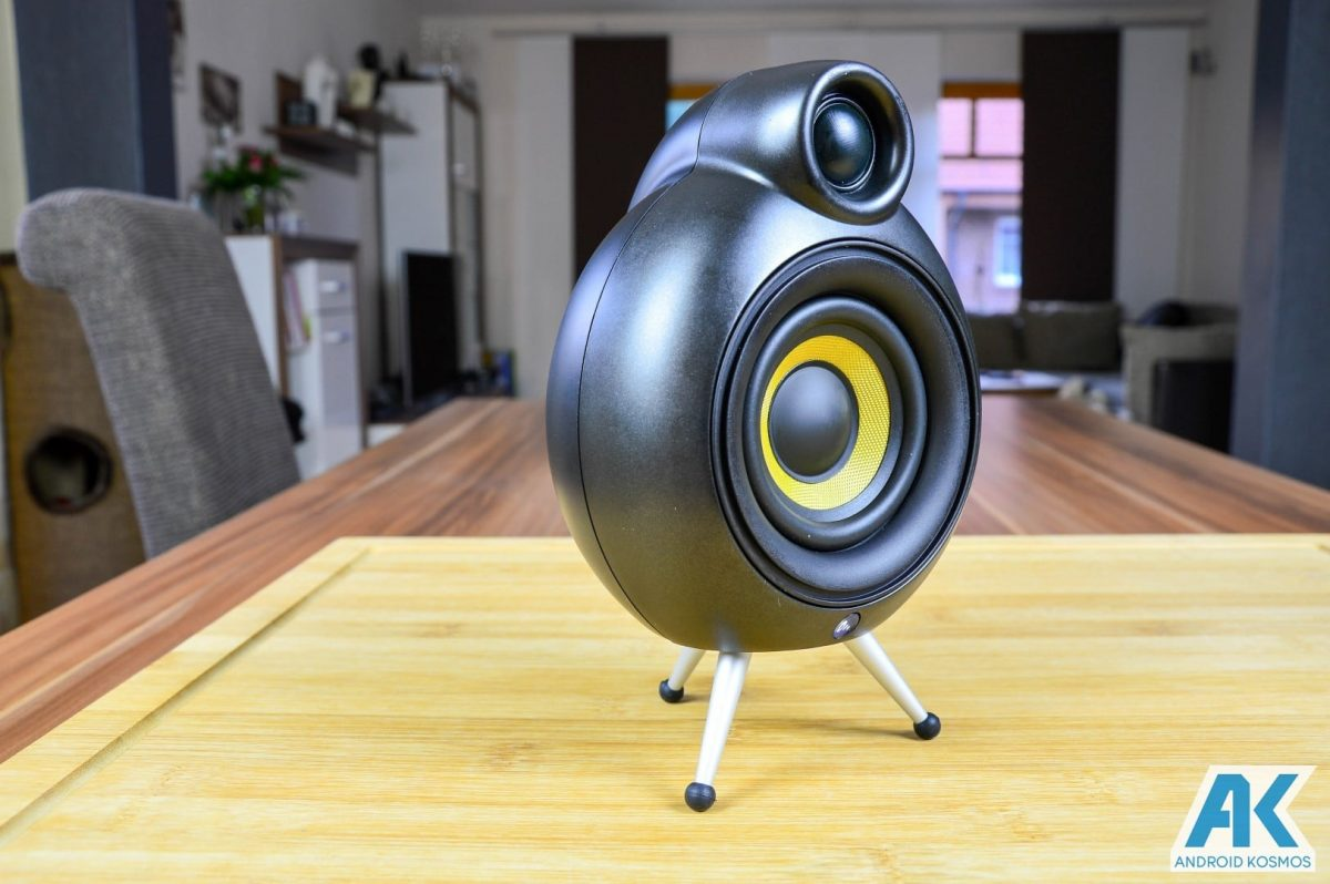 AndroidKosmos | Test/Review: Scandyna PodSpeakers MicroPod - futuristischer Bluetooth Lautsprecher 19