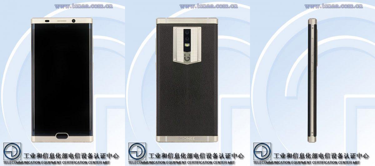 Gionee M2017: High-End-Smartphone mit 7000mAh Akku zeigt sich bei der TENAA