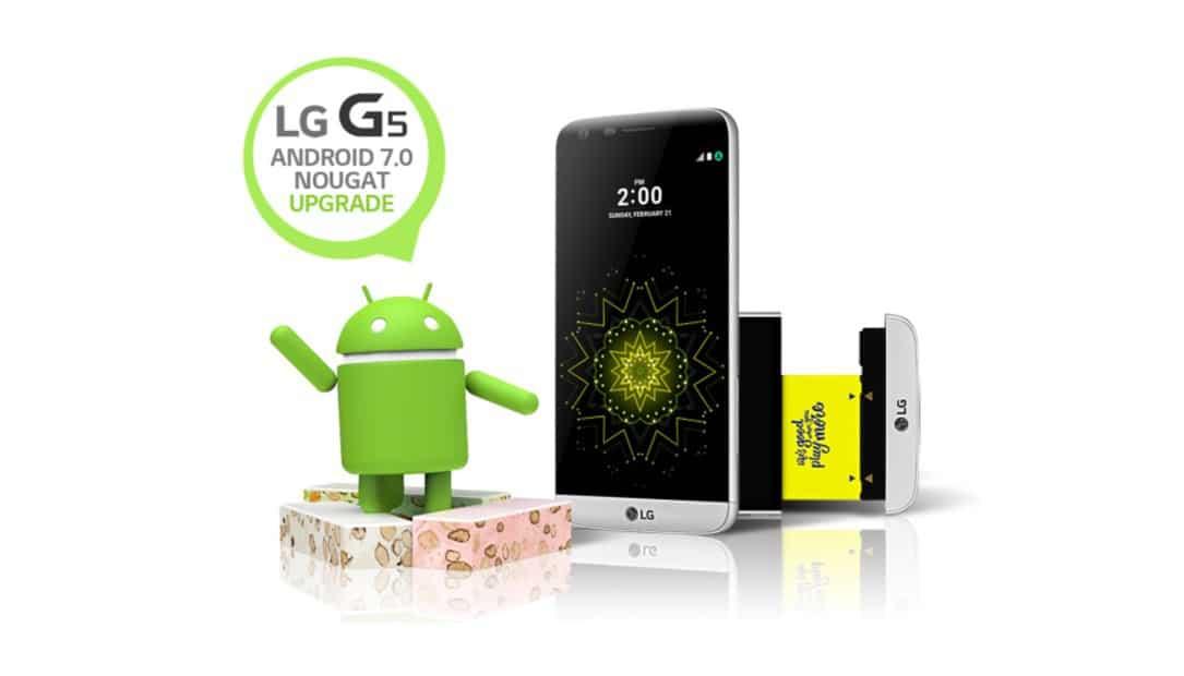 LG G5: Update auf Android 7.0 Nougat wird ab sofort ausgerollt