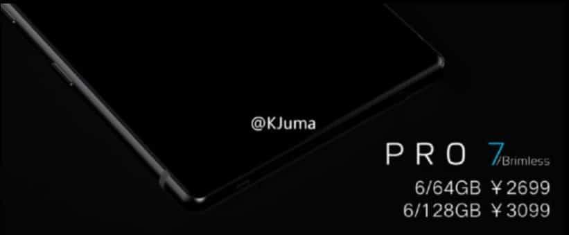 Meizu Pro 7: neues Smartphone mit randlosen Display soll noch dieses Jahr erscheinen 6