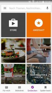 Der Google Play Kiosk erstrahlt in einem neuem Design 5