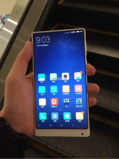 AndroidKosmos | Xiaomi Mi MIX: Smartphone könnte als Nano/Mini Variante und in der Farbe weiß erscheinen 4