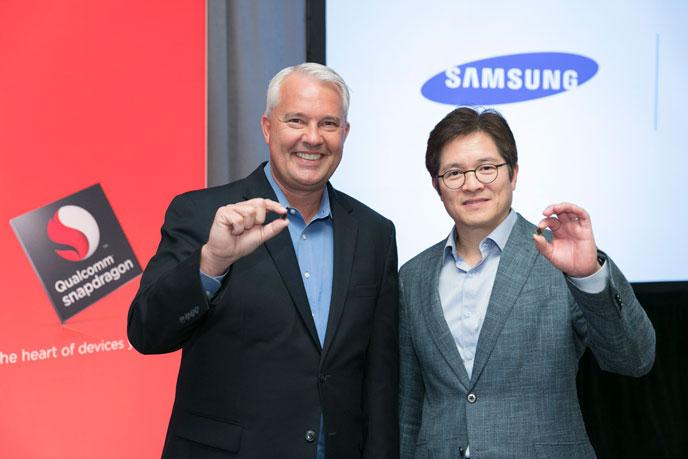 Qualcomm: Snapdragon 835 wird im 10mn Verfahren mit Samsung entwickelt 1
