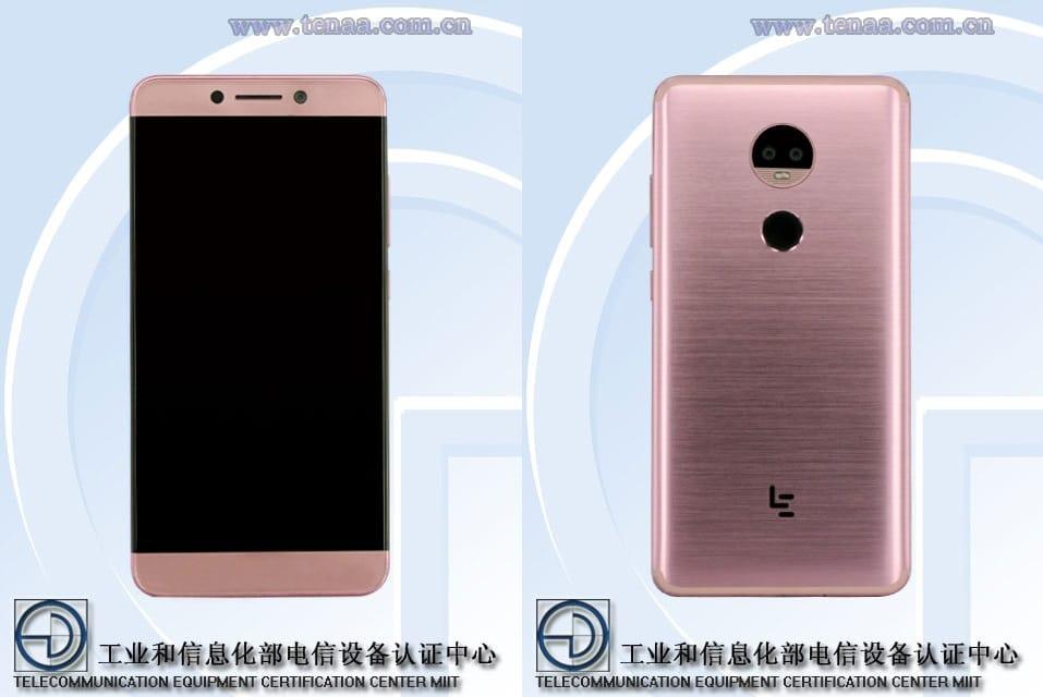 LeEco Le x850: neues Smartphone mit Dual-Kamera bei der TENAA gesichtet 1