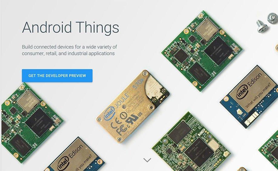 Android Things und Weave bringen Änderungen für Googles IoT-Plattform 3