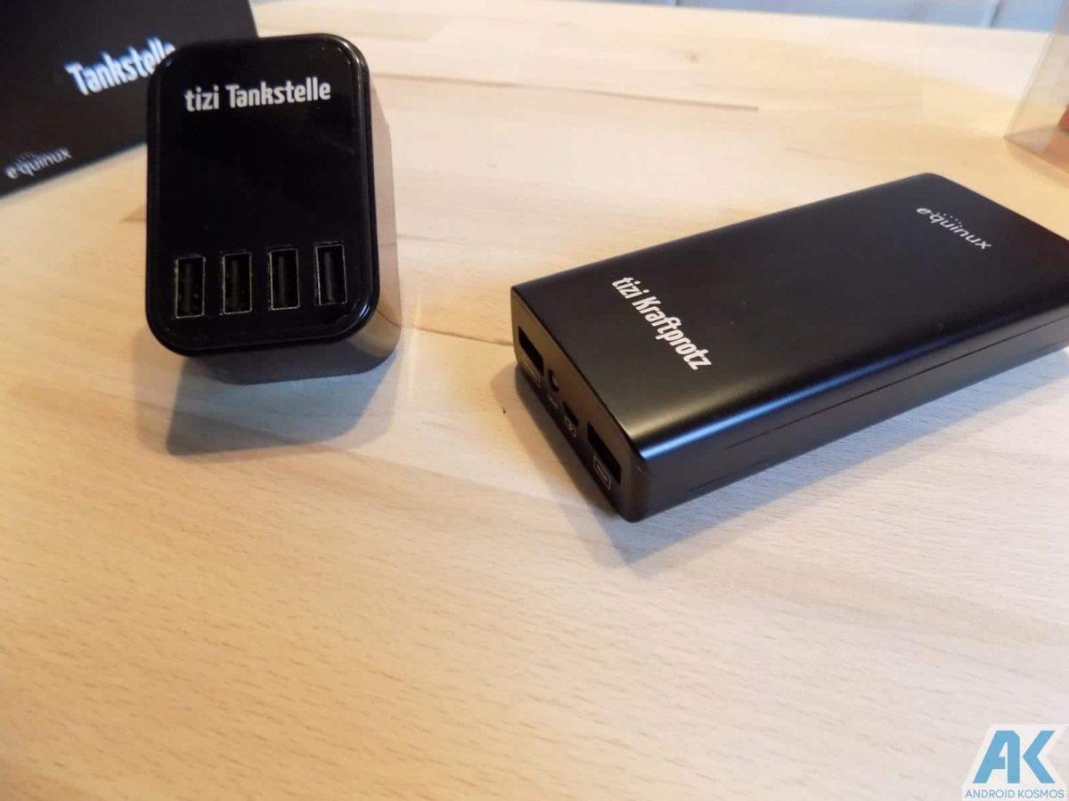 Tizi Test: Kraftprotz und Tankstelle, 2 Power Gadgets im Test 3