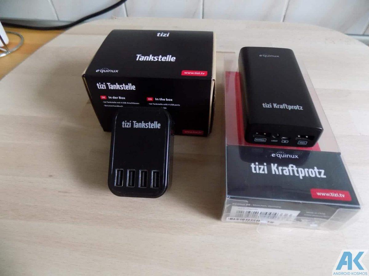 Tizi Test: Kraftprotz und Tankstelle, 2 Power Gadgets im Test 6