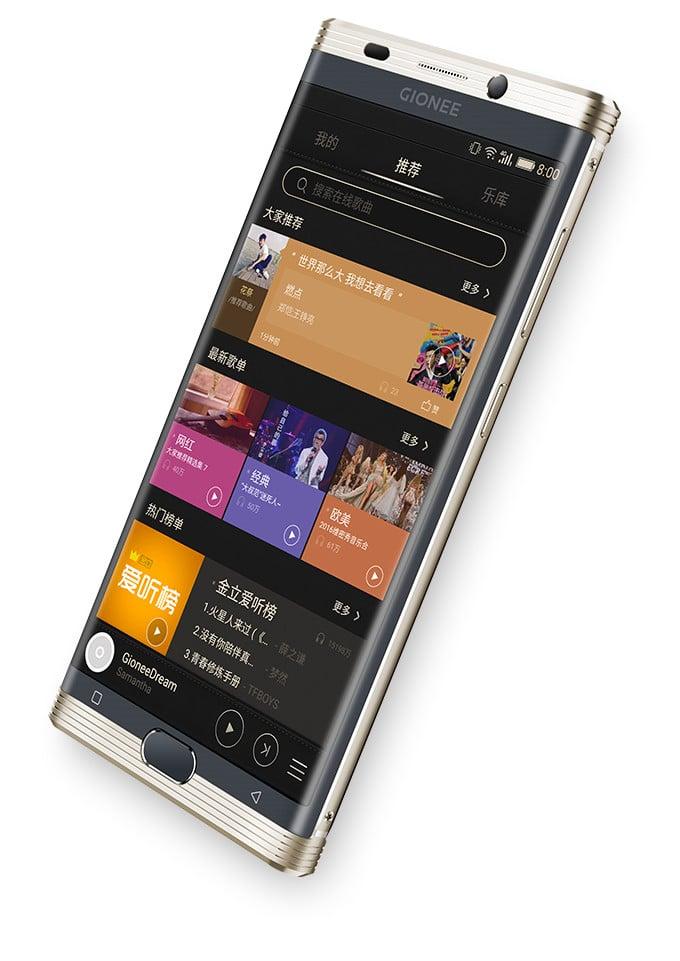 AndroidKosmos | Gionee M2017: neues Premium-Smartphone mit riesigen 7.000mAh Akku vorgestellt 4