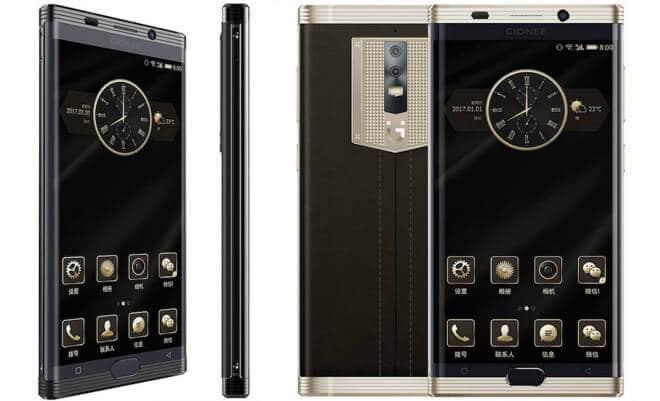 AndroidKosmos | Gionee M2017: neues Premium-Smartphone mit riesigen 7.000mAh Akku vorgestellt 6
