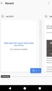 Neuerungen für die Suche: Google testet Recent-Tabs und Offline-Modus 8