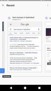 AndroidKosmos | Neuerungen für die Suche: Google testet Recent-Tabs und Offline-Modus 9
