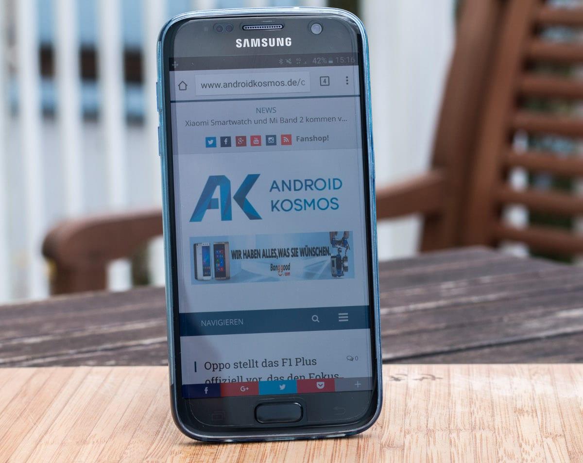 Samsung Galaxy S7: Android 7 Nougat Update könnte nächste Woche erscheinen 1