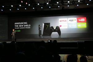 NVIDIA präsentiert die neue Shield-Konsole und den NVIDIA Spot 6