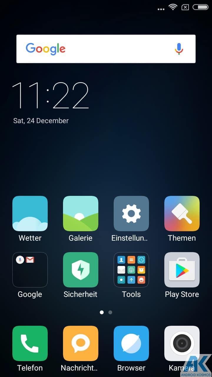 AndroidKosmos | Test/Review - Xiaomi Redmi 4A - Das Budget unter den Budgetphones 38