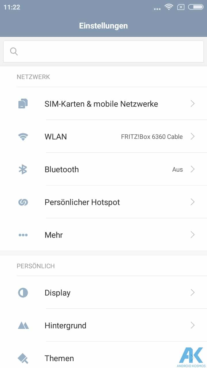 AndroidKosmos | Test/Review - Xiaomi Redmi 4A - Das Budget unter den Budgetphones 42