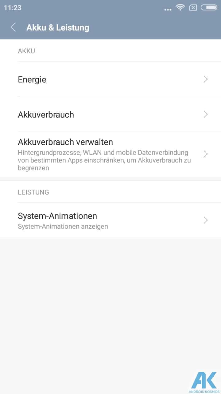 AndroidKosmos | Test/Review - Xiaomi Redmi 4A - Das Budget unter den Budgetphones 49