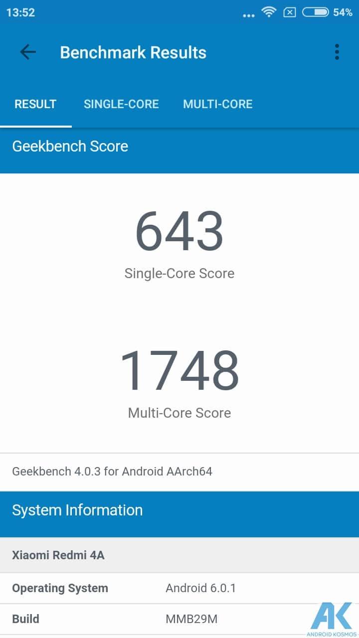 AndroidKosmos | Test/Review - Xiaomi Redmi 4A - Das Budget unter den Budgetphones 55