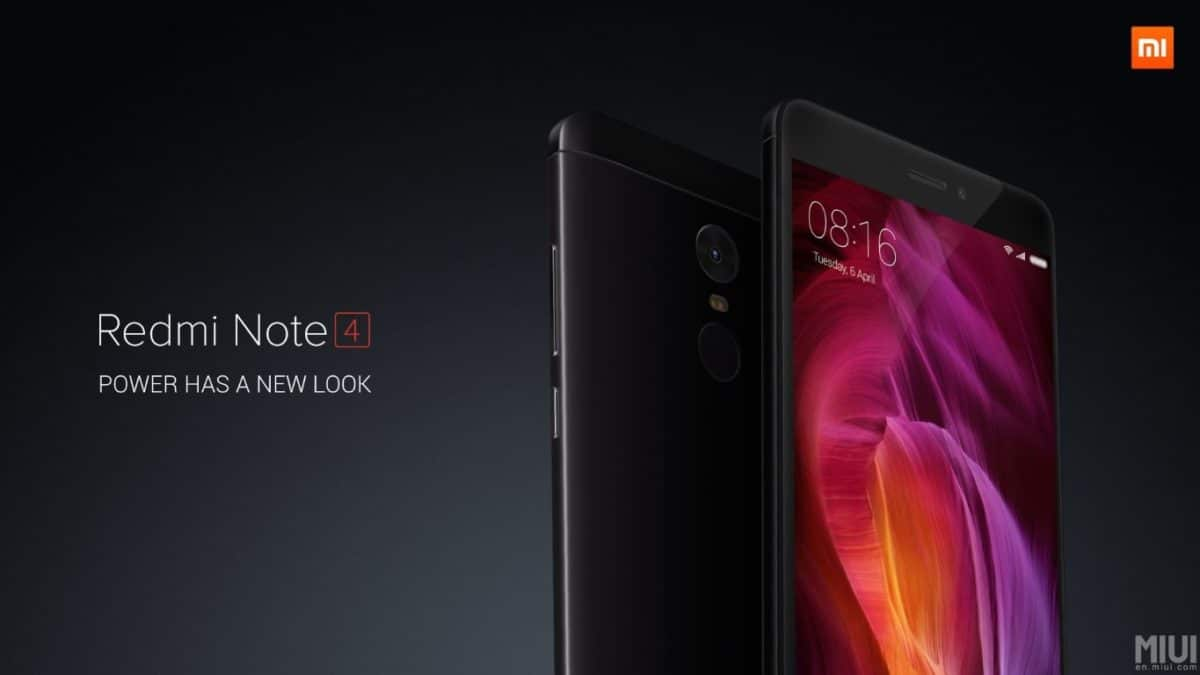 Xiaomi Redmi Note4 header