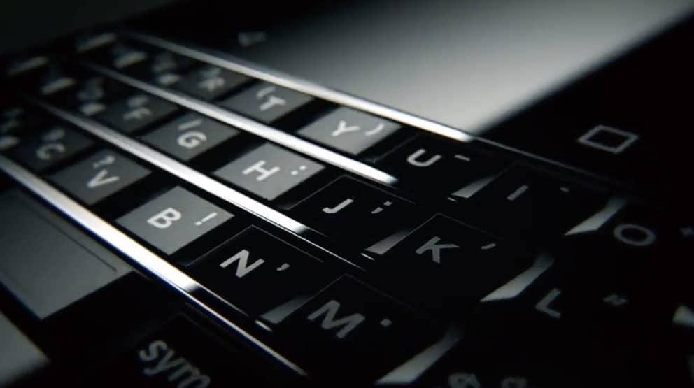 BlackBerry Mercury: Erstes Video zeigt Android-Smartphone mit physischer Tastatur