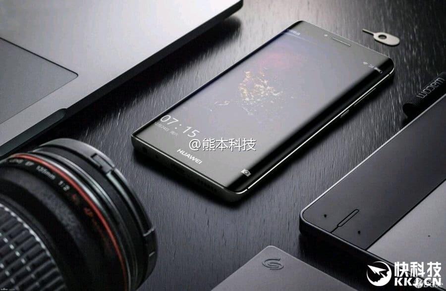 Auch das Huawei P10 Plus soll nun auf Pressebildern zu sehen sein 4