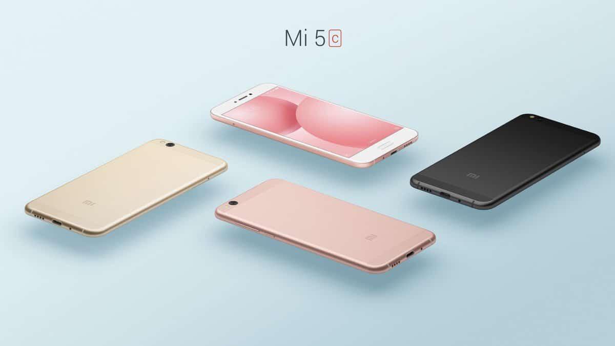 Xiaomi Mi 5c: erstes Smartphone mit eigenem Pinecone Surge S1 Prozessor vorgestellt 1