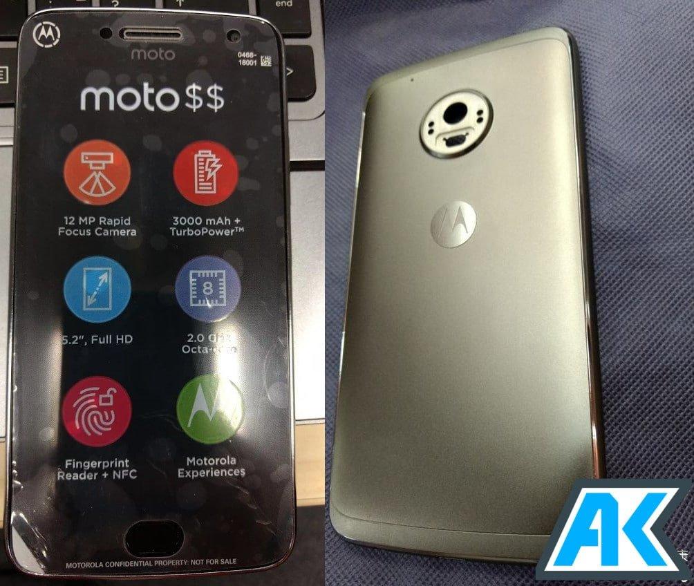 Moto G5 Plus Leak AndroidKosmos