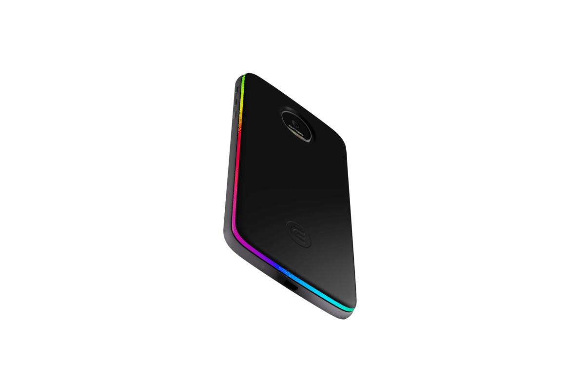 Moto Z: Edge-Mod mit Wireless-Charging und Zusatzakku 4
