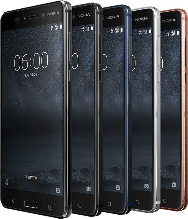 Das sind die neuen Nokia-Smartphones vom MWC 2017 3