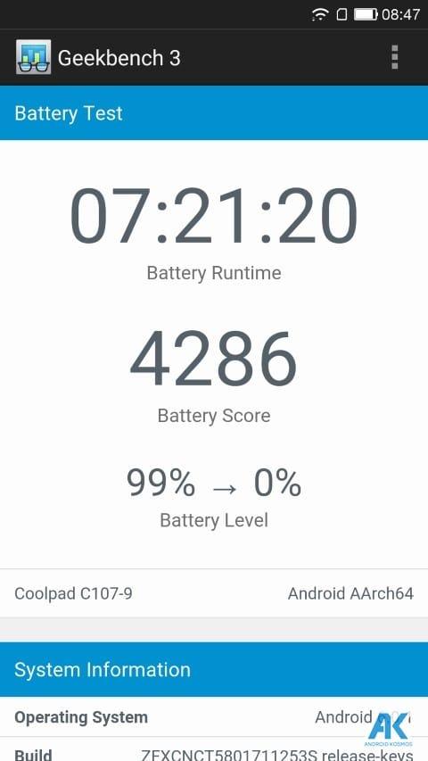 Coolpad Cool Changer 1C Test: Das erste Smartphone von LeEco und Coolpad 88