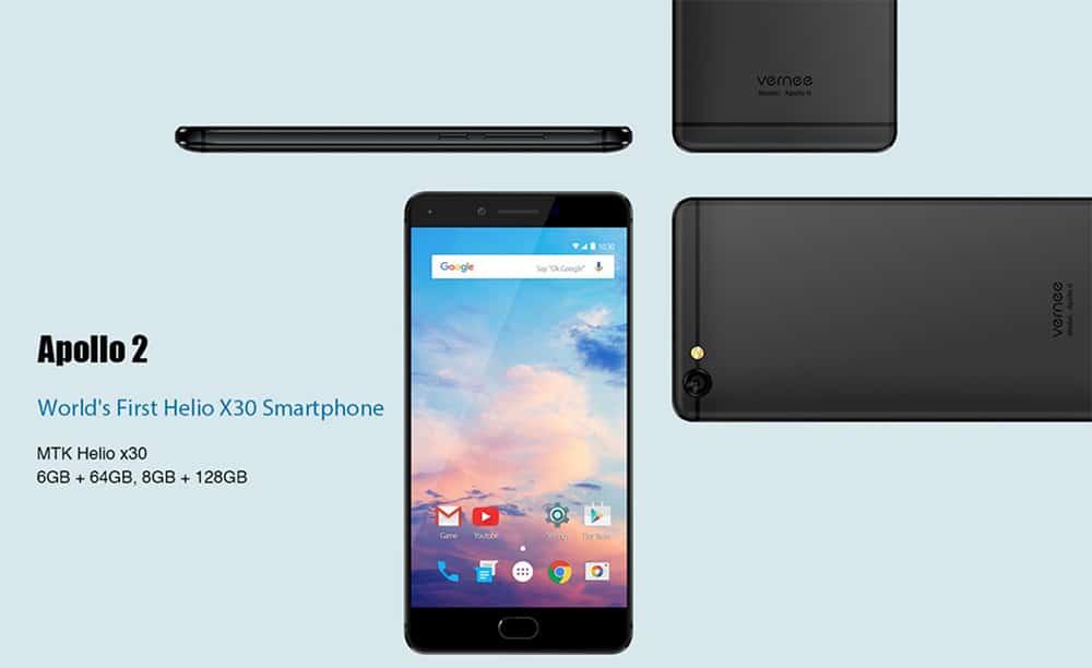 Vernee bringt vier neue Smartphones zur MWC 2017 mit 1