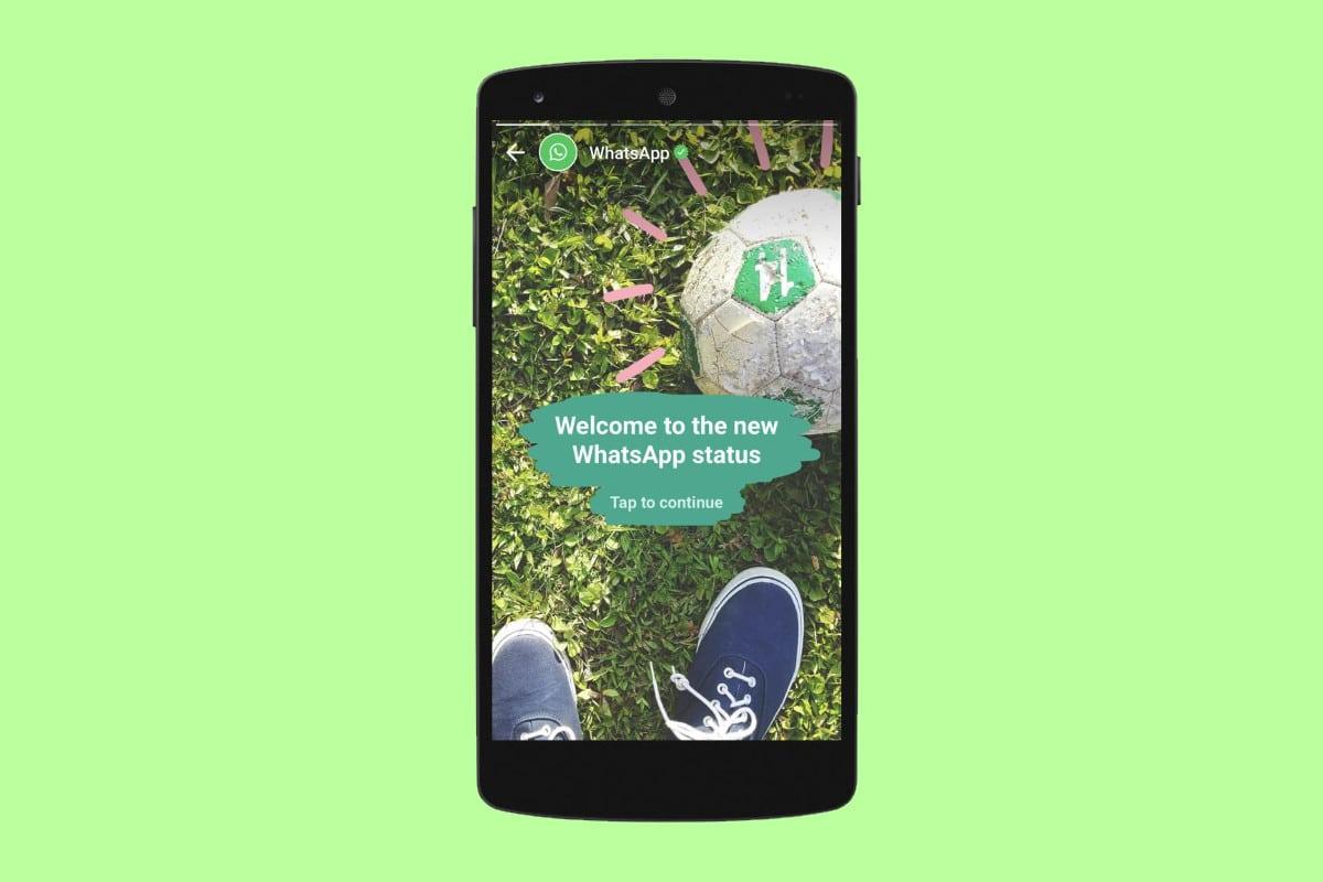 WhatsApp: Status mit Bild oder Video wie bei Snapchat vorgestellt 2