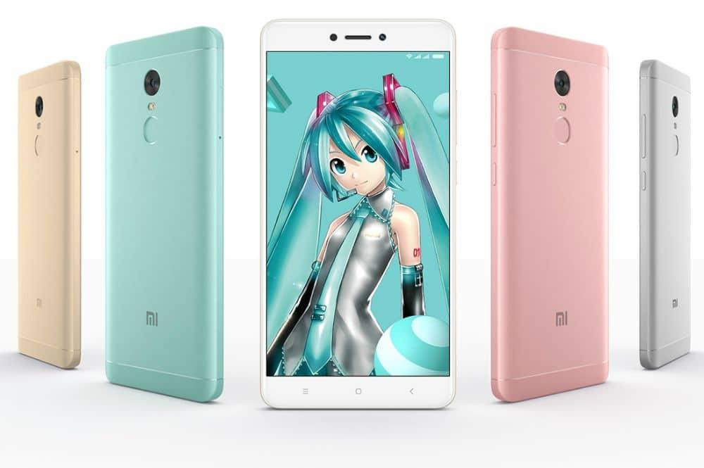 Xiaomi Redmi Note 4X: offizielle Daten und Bilder geleakt 1