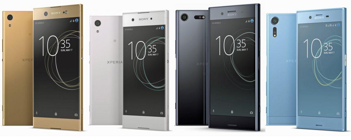 Sony Xperia: Erste Bilder das Smartphone Lineups 2017 geleakt 1