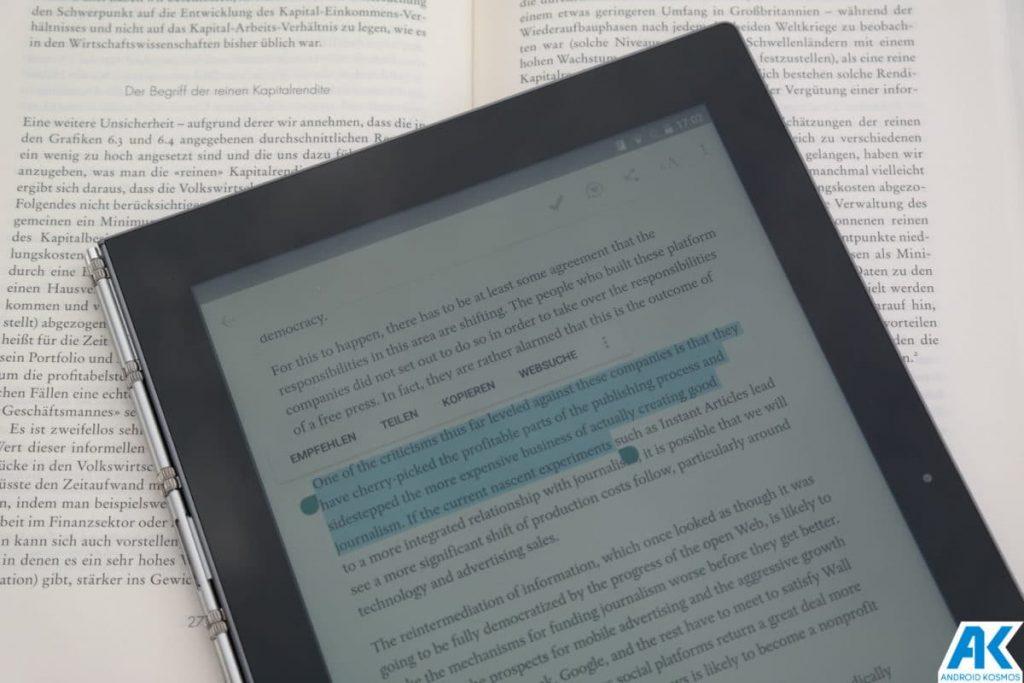 Lenovo Yoga Book Test: Mehr als nur ein Tablet 11